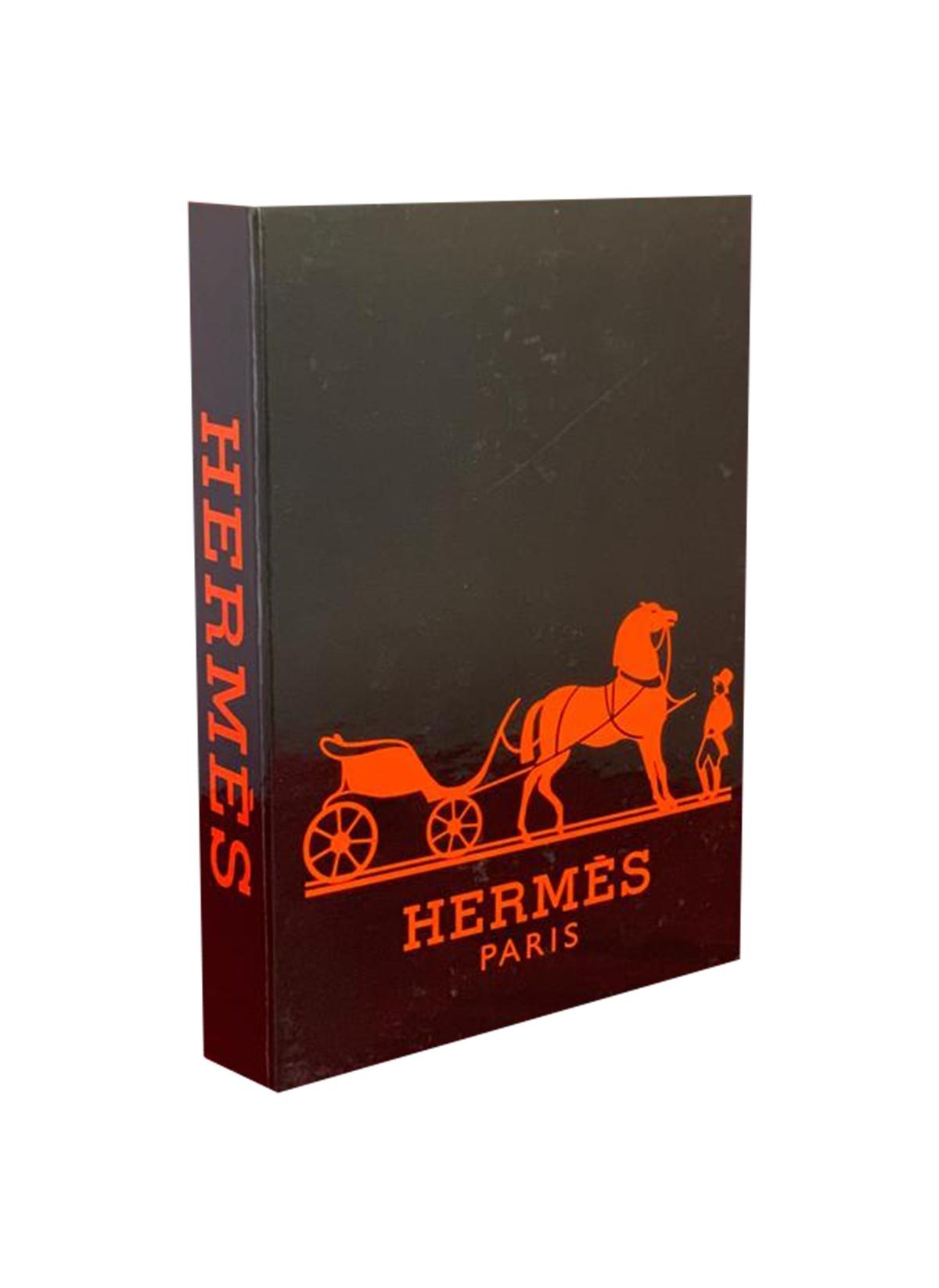 Standart Lyn Home & Decor Siyah Hermes Dekoratif Kutu 27X19X4